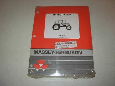 Massey Ferguson MF 3065 Tractor Parts Manual , issued 1995