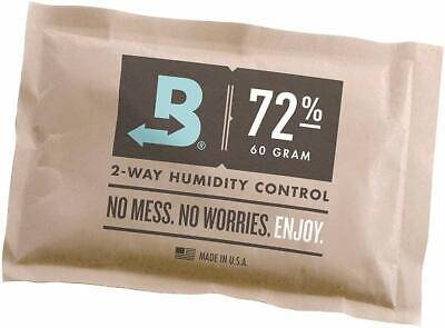 Boveda 72-Percent Rh Individually Over Wrapped 2-Way Humidity Control Pack, 60Gm