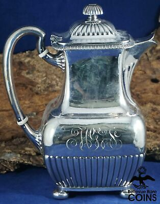 Tiffany & Co. Silver Soldered 2 Pint Tea / Coffee Pitcher (#112/#2903)