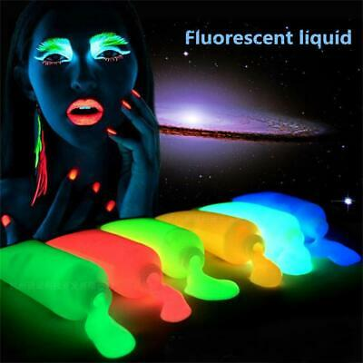 Neon Fluorescent Body Paint Luminescent Face Painting Flash Party Event Supplies