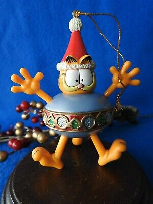 Paws 20 years of Garfield 1996 Football Ornament