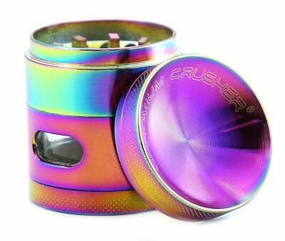 Chromium Crusher 1.6 Inch 4 Piece Tobacco Spice Herb Grinder - Pick Your Color