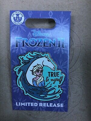 Disney World Frozen II 2: Elsa And The Nokk New Limited Movie Trading Pin