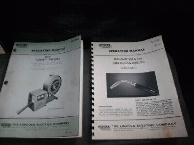 LIncoln LN-6, Squirt Welder, Operations Maintenance Wiring and Parts Manual
