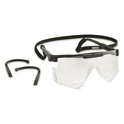U.S. Military Surplus Ballistic Shooters Glasses, New Safety Glasses - Clear