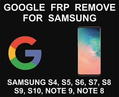 Google Account Lock Removal/FRP Remove Service For Samsung INSTANT 24/7