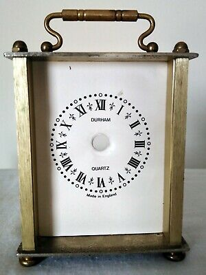 Clock Antique Alarm Westclox Ben Big Works Working Rare German Junghans Brass Pe