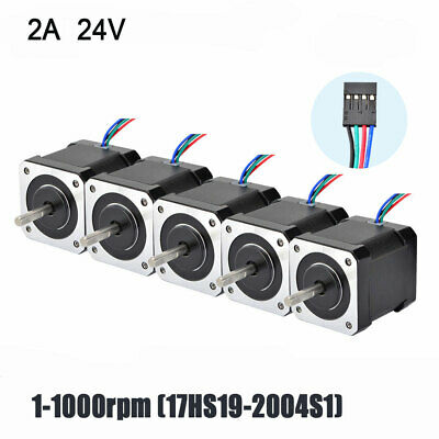 Nema 17 Stepper Motor 0.5(NM) 2A 4 Cables 48mm DIY 3D Printer CNC Reprap