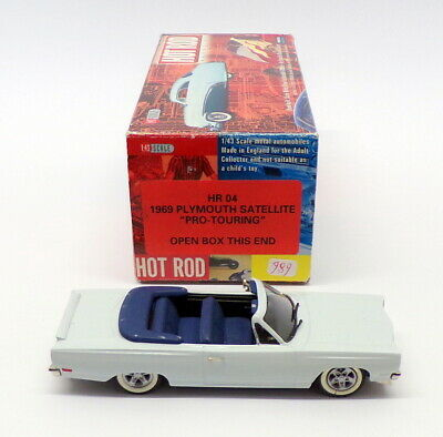 Brooklin Models 1/43 Scale HR04 - 1969 Plymouth Satellite - Conversion