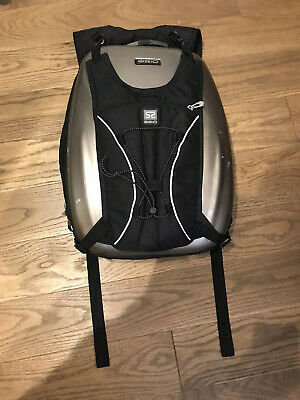 Axio Hard Shell Cycle / Motorbike Bag /Backpack With Rare Axio Outer Pack Retro
