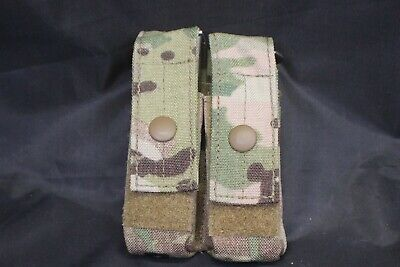 1 Multicam Molle Ii 9Mm Double Magazine Clip Pouch New Genuine Military Issue