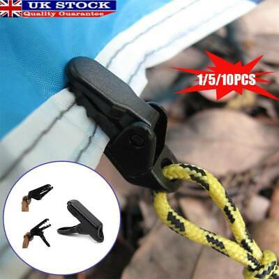 Crocodile Clips Clamps Attaching Tent Anti Wind Blow Away Plastic Accessories