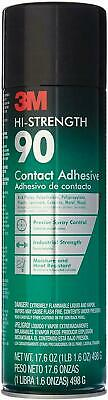 4 Cans 3M High Strength 90 Contact Spray Adhesive, 17.6-Ounces. Made in USA