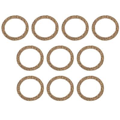 Lot of 10 fits John Deere A AR B BR D G GP H 60 Tractor Sediment Bowl Gasket C17