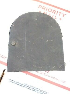Antique Gilbert Mantle Clock Back Door - Parts -  Wood Latch