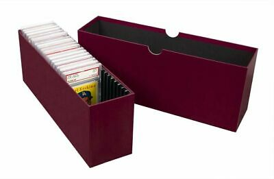 (1) BCW Slotted Graded Card Storage Box - Holds 26 PSA Graded Cards