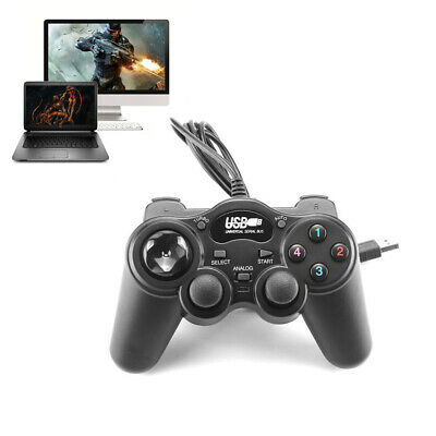 Wired USB 2.0 Gamepad Controller Joystick Joypad Super Double Vibration for PC