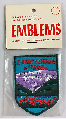 Lake Louise Alta Canada Cloth Embroidered Souvenir Patch Emblem New
