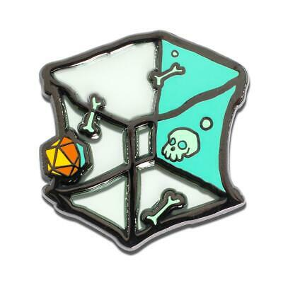 Dungeons & Dragons Translucent Gelatinous Cube 1.5 Inch Enamel Collector Pin
