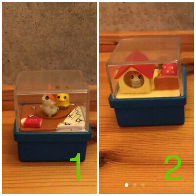 Hamtaro Hamster Used Toy x 2 free shipping with tracking number