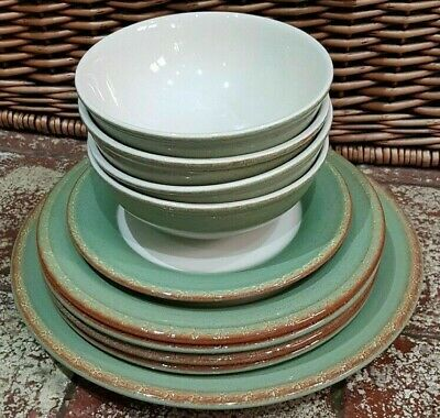 Bhs Brecon Light Green Part Dinner Set - Plates & Bowls