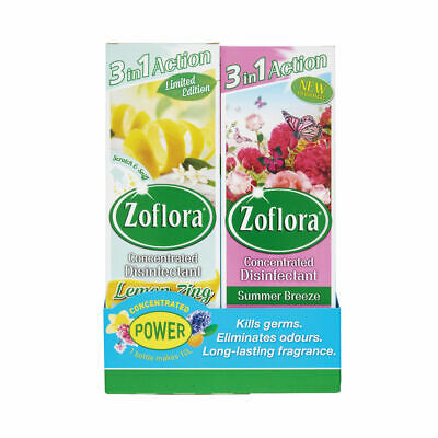 NEW! Zoflora 3-in-1 Concentrated Disinfectant 250ml Pack of 8 20220