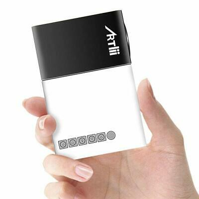 Mini Projector Artlii Home Projector Pico Pocket Projector Compatible with USB