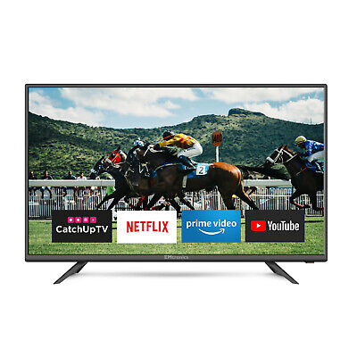 "EMtronics 40"" Inch Full HD Smart TV with Freeview T2 HD, Wi-Fi, 3x HDMI and Apps"