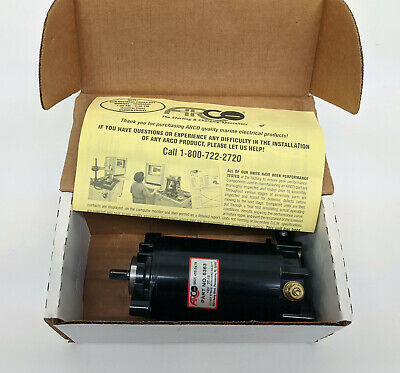 Johnson Replacement Outboard Starter 5363 Arco Evinrude