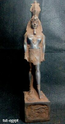 Rare EGYPTIAN ANTIQUE ANTIQUITIES King Rameses II Statue Figure 1549-1113 BC
