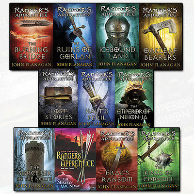 Rangers Apprentice 11 Books Young Adult Collection Paperback By John Flanagan