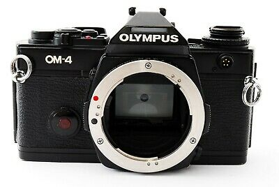Olympus OM-4 35mm SLR Film Camera Black Body Only tested from Japan