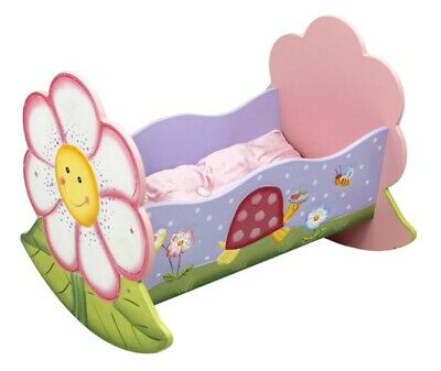 New Teamson Magic Garden Childrens Cradle Hand Painted