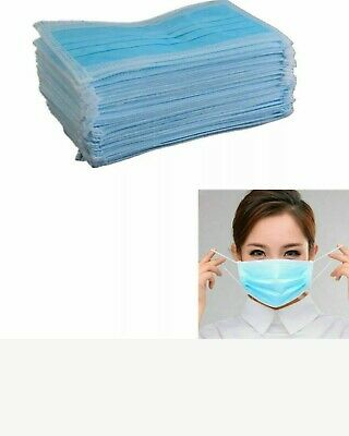 Disposable Surgical Face Mask Anti-Dust Anti-smog Ear Loop Mouth Mask Set 10,20,
