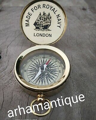 Navigation Astrolabe Camping Compass Nautical Maritime Working Compass Gift