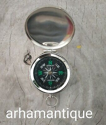 Nautical Solid Brass Working Compass Marine Navigation Astrolabe Compass