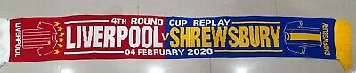 Liverpool v Shrewsbury Matchday Scarf - Cup Replay 04.02.20