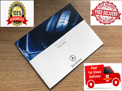 Mercedes Service History Book, Brand New & Genuine, Not Duplicate, All Models<