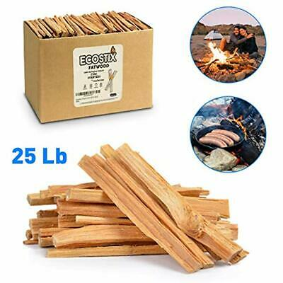 120 Eco-Stix Fatwood Starter Kindling Firewood Sticks Woo EasyGoProducts Approx