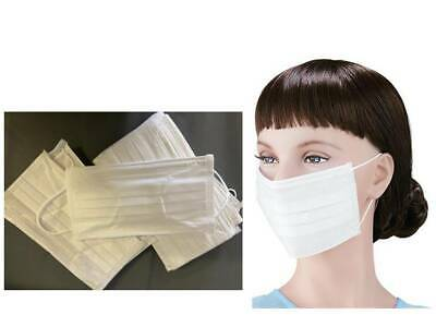 Disposable Face Mask 3 Ply Surgical Beauty  Virus Protector White Mask *Choose*