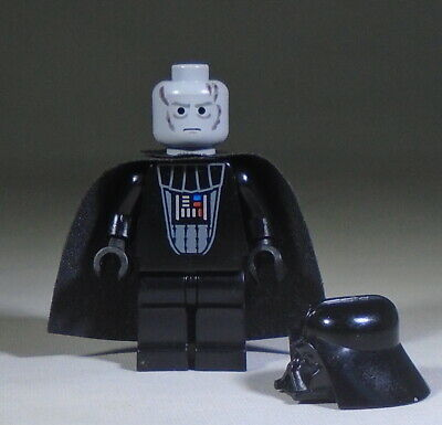 LEGO STAR WARS DARTH VADER MINIFIG 7264 6211 minifigure lightsaber DV44