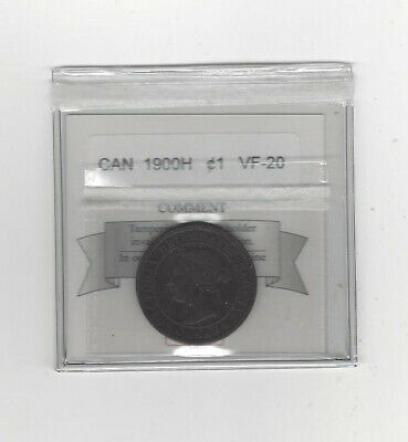 1900H Coin Mart Graded Canadian, Large One Cent, **VF-20**