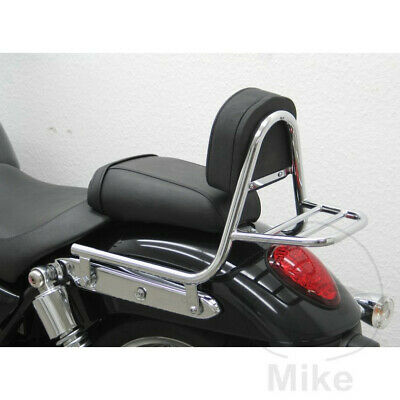 Motorcycle Chrome Sissy Bar With Luggage Rack/Holder