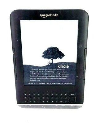 Amazon Kindle 3 Keyboard 4GB, Wi-Fi + 3G, Model #D00901 Wifi - Dark Gray 01-1B