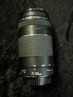 Canon Zoom Lens EF 75-300 mm 1:4-5.6 III Automatic/Manual Focus