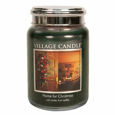 Village Candle Duftkerze Tradition Home For Christmas (602g)