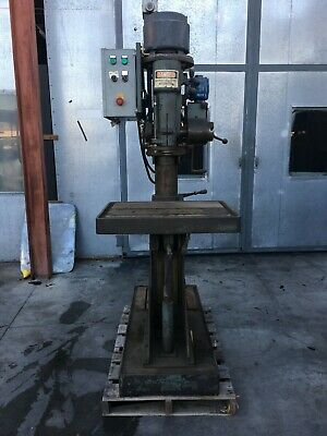 "JOHANSSON 20"" x 28"" Table Radial Arm Drill Press"