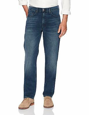 Levi's Men's Jeans Dark Blue Size 38x30 Relaxed Fit Denim Stretch $59 575
