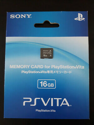 Sony PS Vita 16gb Memory Card [New] [Official] From Japan for PlayStation PSV