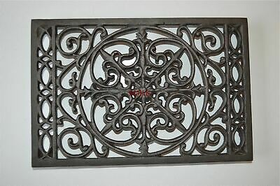 Beautiful Victorian design cast iron trivet kitchen cooking pot holder mat TV1